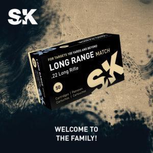 SK Launches New Long Range Match .22 LR Ammunition