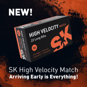 New for 2021: SK High Velocity Match