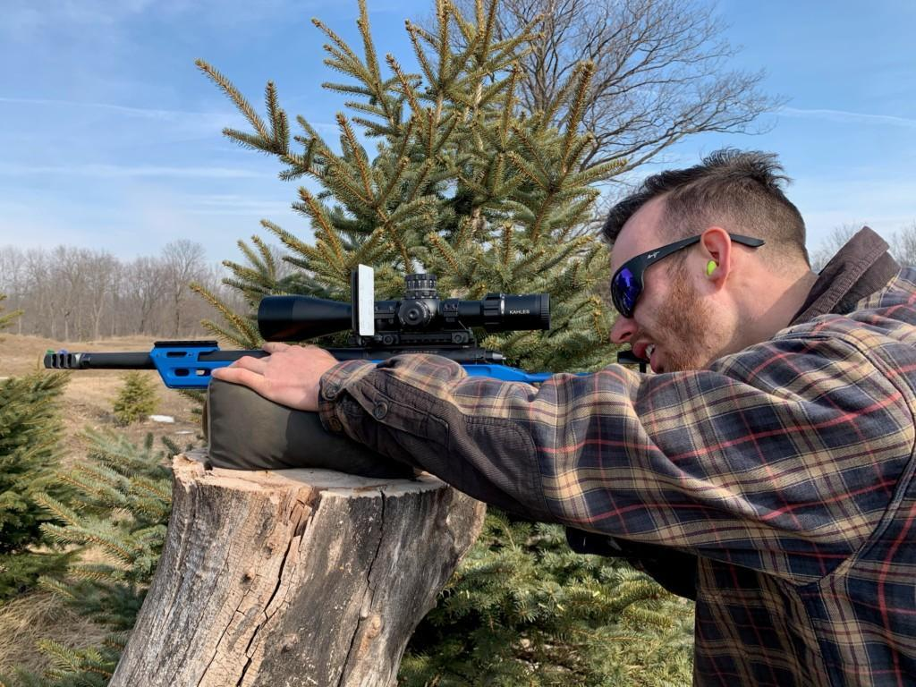 Brett Sharpe training at home with SK ammo 2021